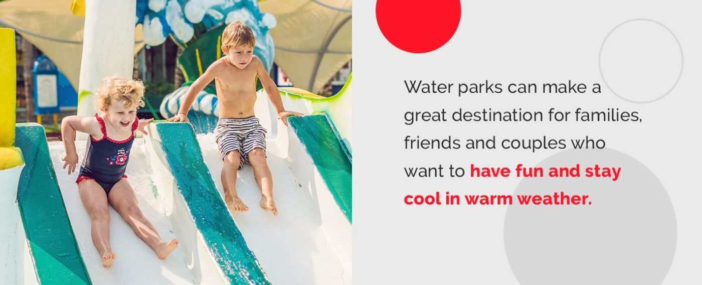 Outdoor and indoor water park benefits