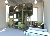 BK Playtime climbing area by Playtime