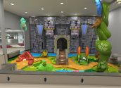 Lakeside Mall Play Area castle theme by Playtime