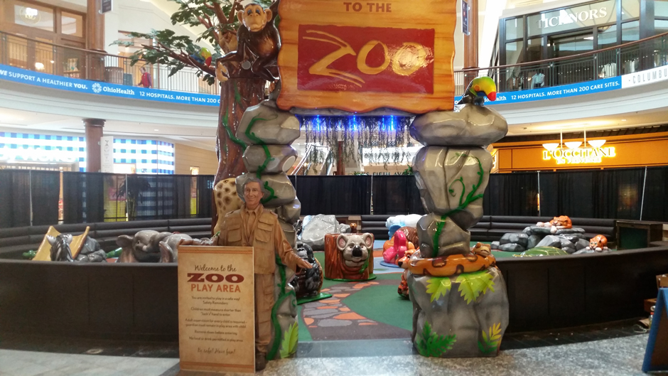 Polaris Fashion Place Honors Columbus Zoo With New Play Area