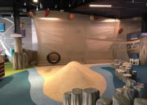 Westfield Garden State Mall Ship & Aquatic Theme Environment Created by Playtime