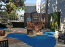 Westfield Century City Mall Pirate Ship/Tumble Leaf Theme Play Environment Created by Playtime