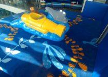 Submarine play area in South Carolina Aquarium