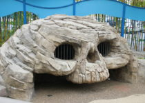 skull creation by playtime in kids play area at friendship square