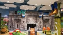 fairytale theme playtime play area at lakeside shopping center