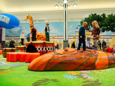 Zelenopark Mall Moscow Russia Play Environment Created by Playtime