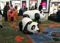 Beijing Airport Panda Theme Environment Created by Playtime