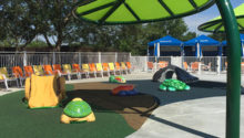 Carolina Harbor Amphibian Theme Environment Created by Playtime