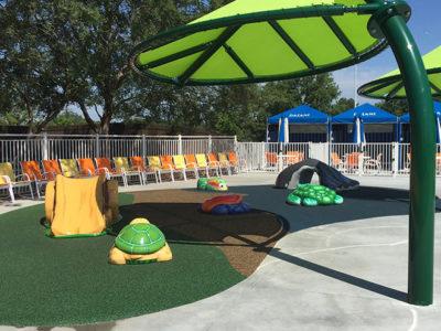 Carolina Harbor Amphibian Theme Environment Created by Playtime