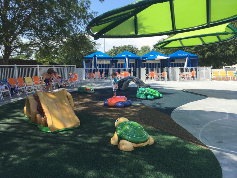 Outdoor custom play area