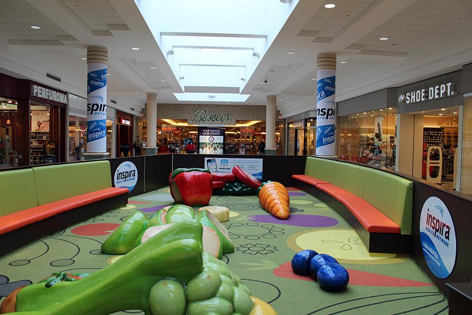Custom play area in Cumberland Mall