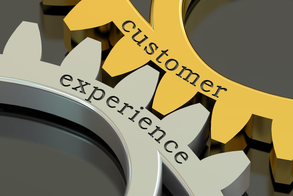 Gears with words Customer and Experience
