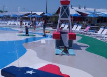 Water Walks Typhoon Texas Created by Playtime Lifeguard Tower