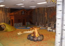 Southwest Plaza Camping Theme Environment Created by Playtime
