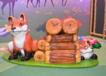 Breckenridge Rec Center cute foxes by PLAYTIME