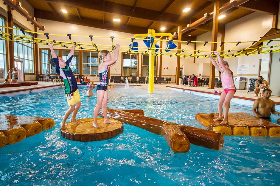Elkhorn Resort floatables in pool
