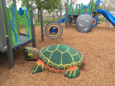 Elkton MI Aquatic Theme Play Environment Created by Playtime