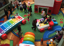 PLAYTIME Fisher Price aerial view of play area