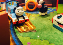 PLAYTIME Fisher Price play area Thomas the Train
