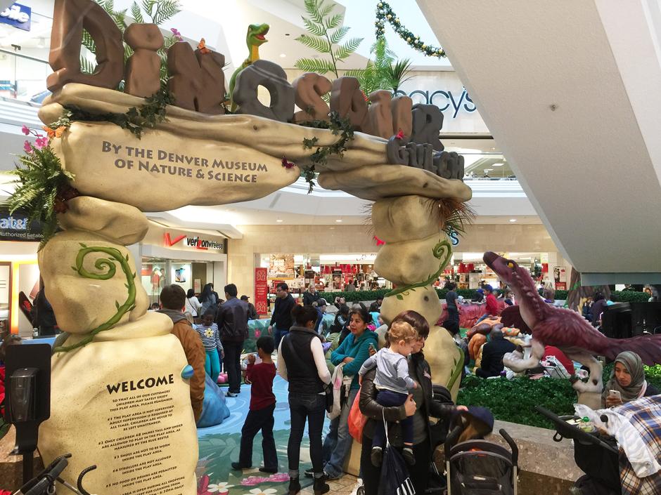 Dinosaur custom play area