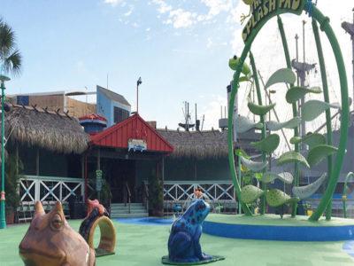 Florida Aquarium Amphibian Theme Environment Created by Playtime