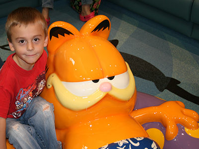 PLAYTIME Garfield play area