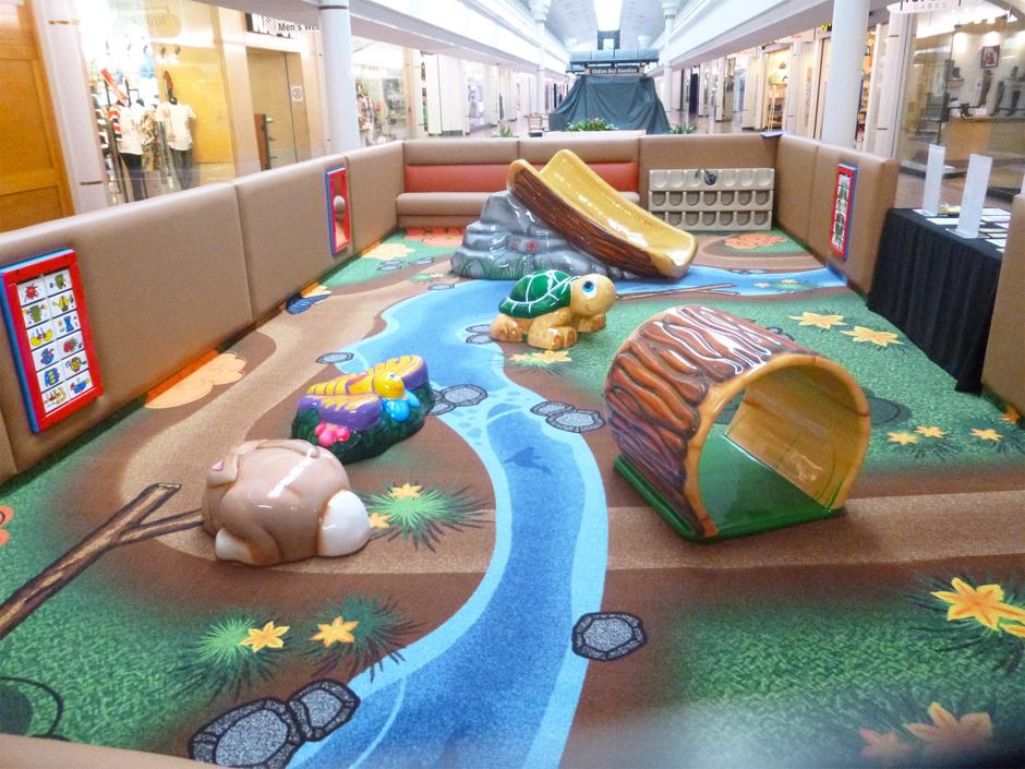 Greenbriar mall custom play area