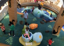 Greensborough Plaza Dinosaur Theme Play Environment Created by Playtime
