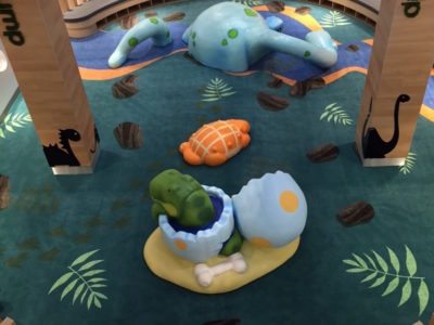 Greensborough Plaza Dinosaur Theme Play Environment Created by Playtime