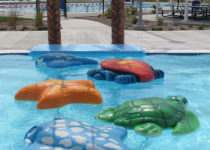 Greenwood Aquatic Center Sea Life Theme Environment Created by Playtime