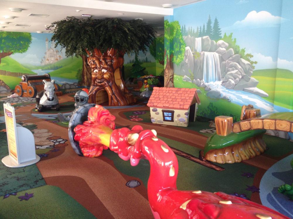 Custom play area