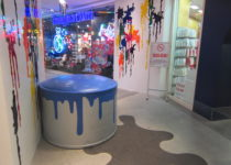 Canyon Shopping Center Colorful Paint Theme Play Environment Created by Playtime