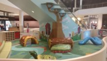 PLAYTIME play area at Del Amo Fashion Center play logs