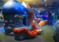 Lotte World PLAYTIME Experience Eun-Pyung deep sea area