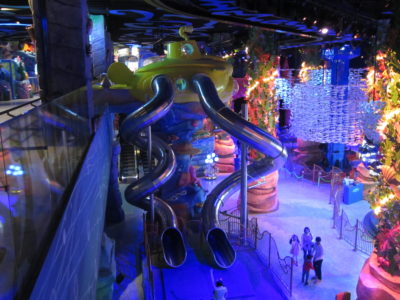 Lotte World PLAYTIME Experience Eun-Pyung slide area