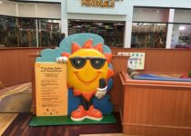 sun with rules of PLAYTIME play area at Arizona Mills