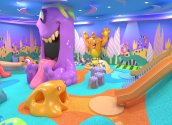 PLAYTIME cute Monster In-Line Space play area