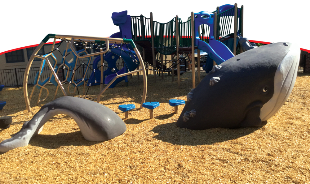 Custom outdoor playground