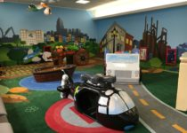 Custom play area in Lehigh Valley Airport