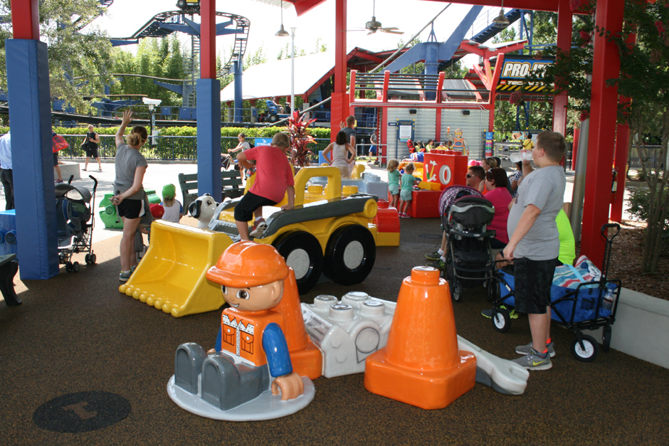 Legoland toddler play area