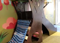 Indoor Playtime play area tree themed jungle gym structure