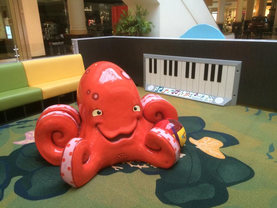 Montgomery mall custom play area