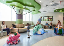 Waiting Room at naples community hospital with playtime play pieces