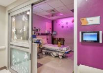 children's Exam room ot naples community hospital with playtime features