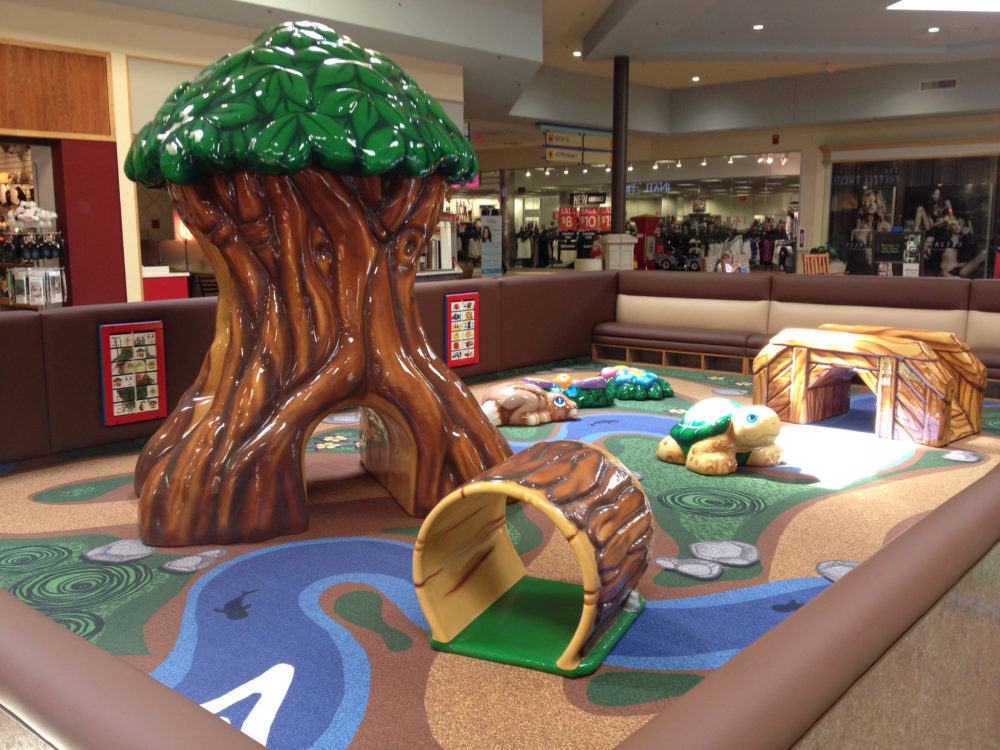 New River Valley Mall custom play area