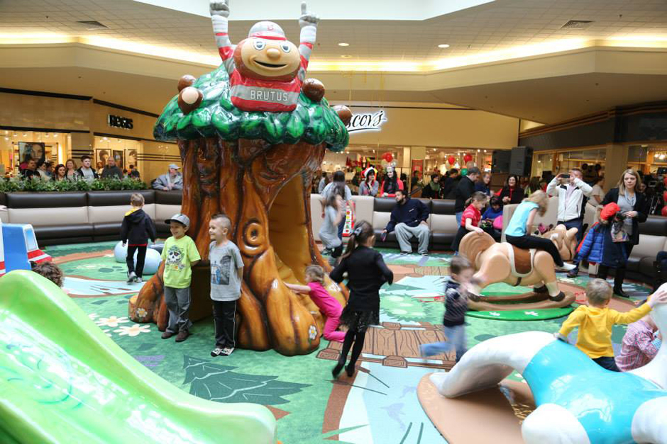 Ohio Valley Mall custom play area