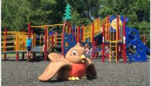 Old Bridge Linden NJ Park Colorful & Ship Themes Play Environment Created by Playtime