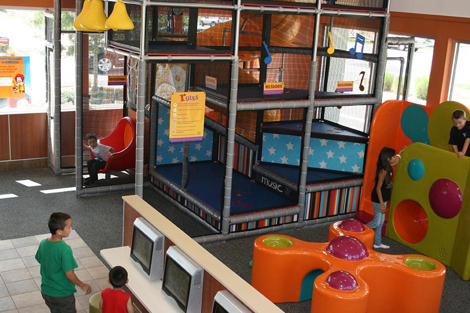 McDonalds custom play area
