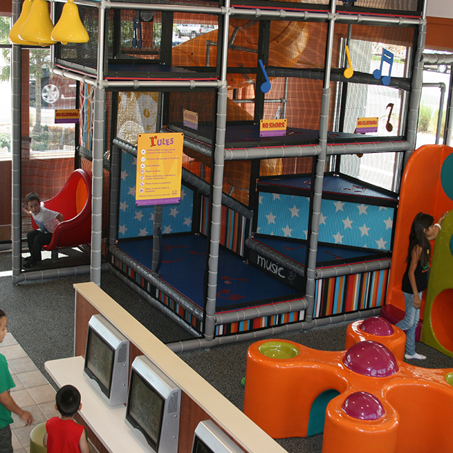McDonalds custom play area