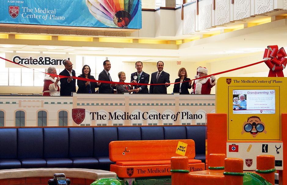The Medical Center of Plano custom play area